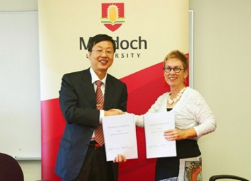 MOU of Cooperation between Chinese Academy of Forestry and Murdoch University Signed